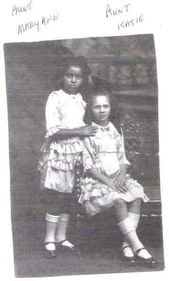 Maryann and Katy