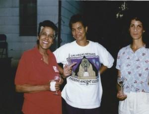 Me, Mom, Margaret Ann-family reunion