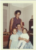 Mom, Grandma, Me, Dave